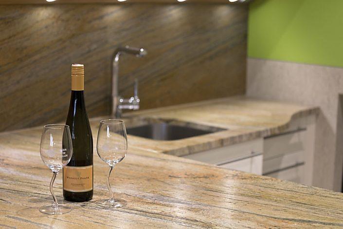 Küchenarbeitsplatte Naturstein