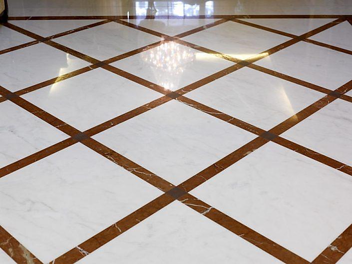 Marmor Bodenplatten
