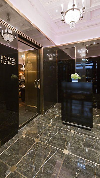 Eingang zur Bristol Lounge