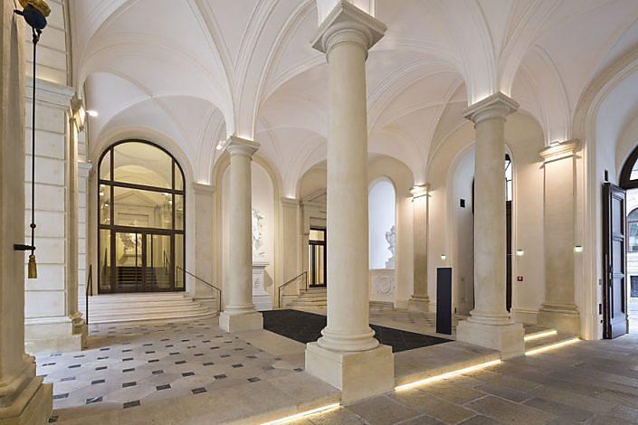 Palais Liechtenstein - Restaurierungsarbeiten