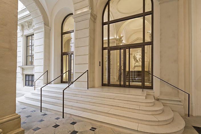 Palais Liechtenstein - Restaurierung Fassadenelemente und Stiegenaufgang