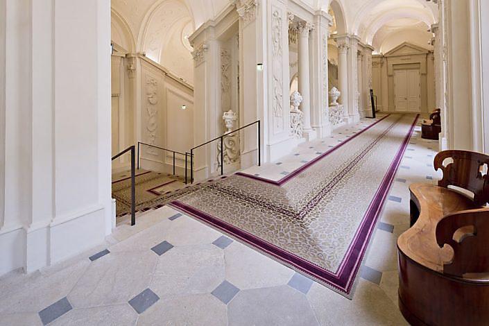 Palais Liechtenstein - Steinfliesen Boden