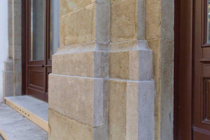 Naturstein-Ergänzungen in Detailansicht